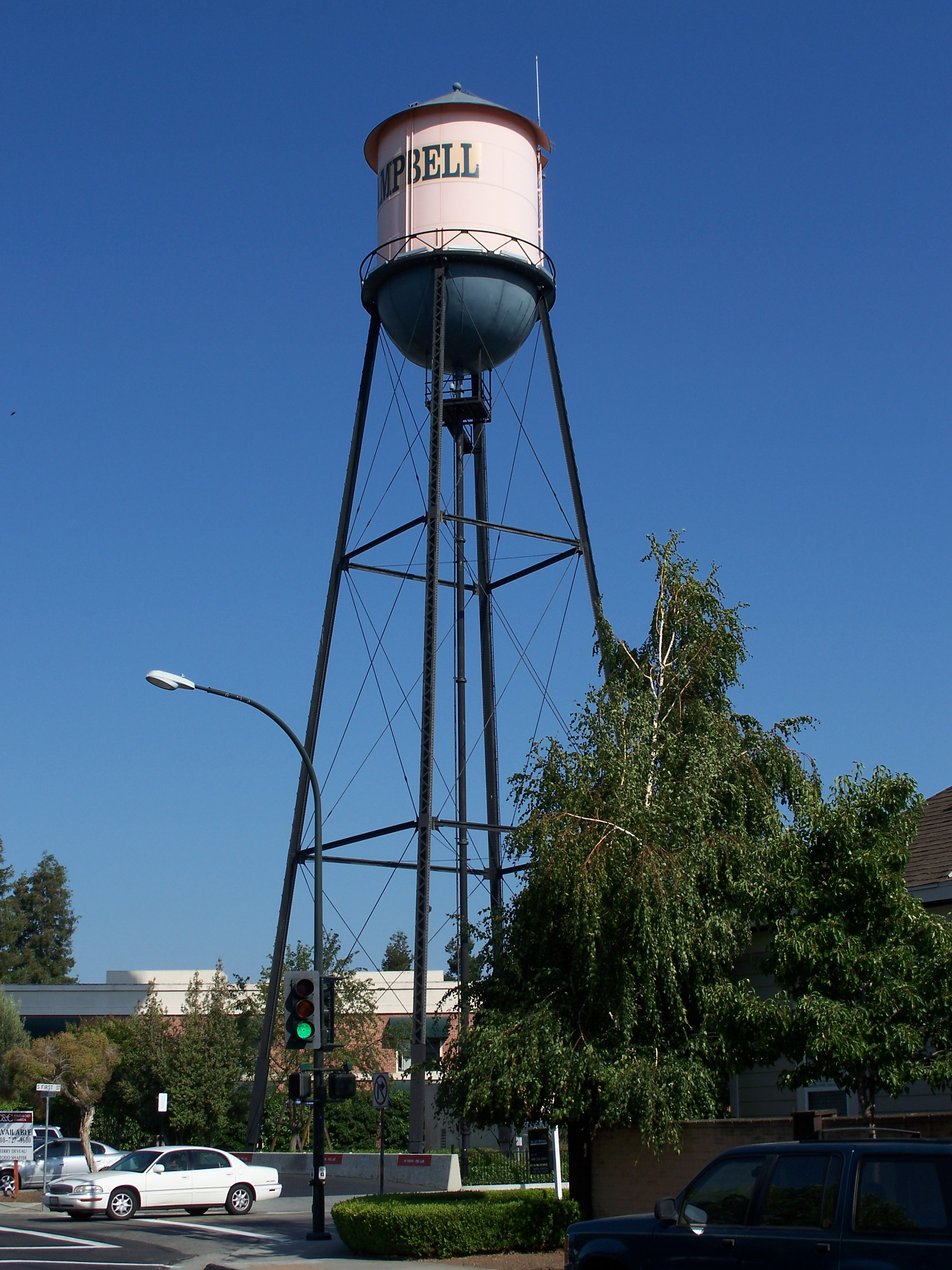 Campbell California Water Tower